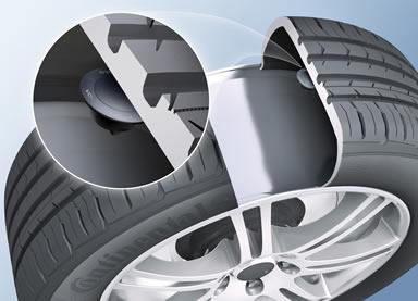 dæktryk måling TPMS